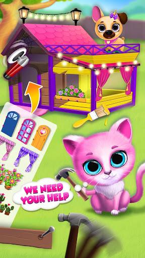 Kiki & Fifi Pet Friends - Furry Kitty & Puppy Care 2.0.98 screenshots 7