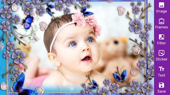 Download Floral frame photo editor 2020 For PC Windows and Mac apk screenshot 1