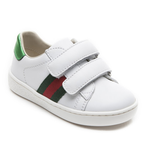 Primary image of Gucci Leather Web Trainer Toddler
