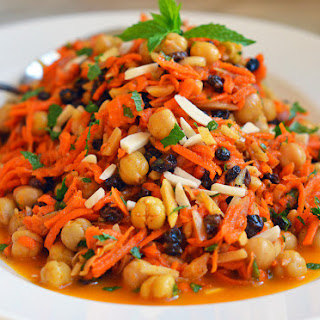 Moroccan Carrot & Chickpea Salad.