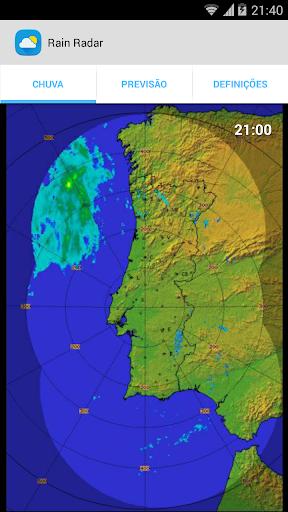 Rain Radar - Portugal