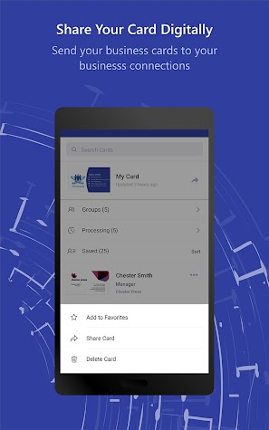 BizConnect - Business Card Reader Screenshot