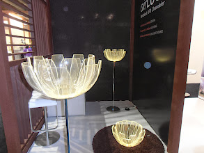 Photo: Lotus Flower lamps, Air LUCE, Tokyo, Japan www.tranlogue.jp #ambiente14