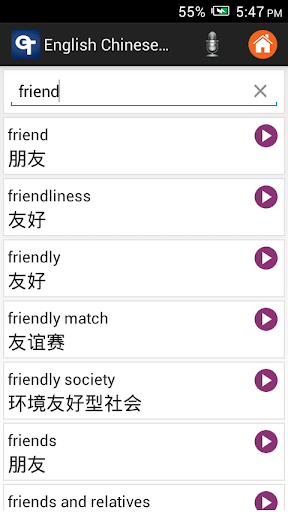 dictionary english to chinese google
