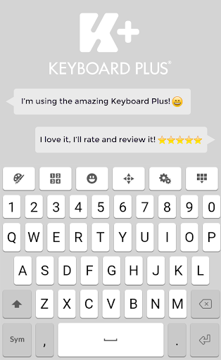 Keyboard Plus OS Phone