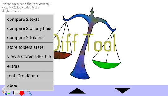 DiffTool the File Compare Tool- screenshot thumbnail