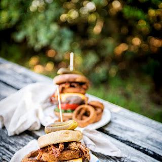 Crunchy Pork Belly Burger Recipe