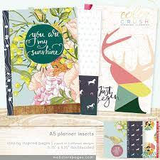 Websters Pages A5 Personal Planner Inserts 3/Pkg - Staying Inspired UTGÅENDE