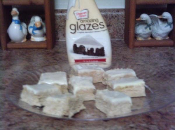 Grace's Home Made Peanut Butter Fudge With Glaze Recipe