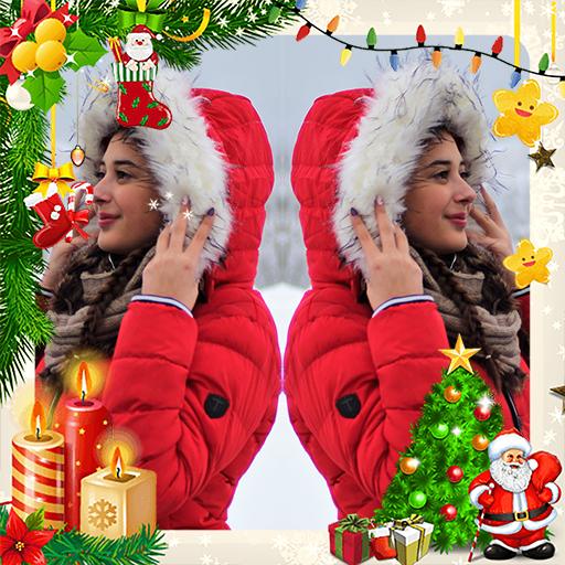 Christmas Mirror Effect Photo Editor Icon