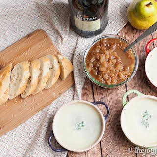 Pate with Spiced Pears.
