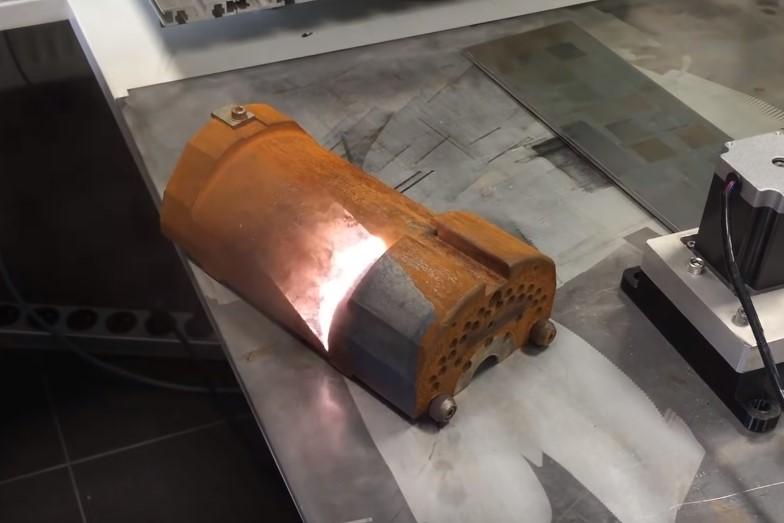 Система технологии по лазерной чистке