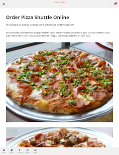 Pizza Shuttle Online Ordering- screenshot thumbnail