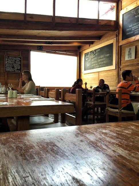 Restauracja The Tree House, Aguas Calientes