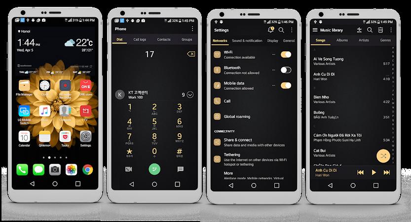MIOS BlackBold LG G6 V20 G5 v2.0