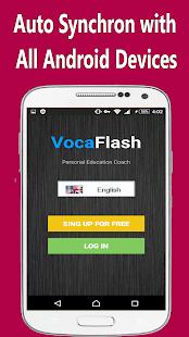 VocaFlash: Words Flashcards - náhled