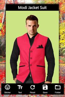 Modi Jacket Suit Photo Editor - náhled