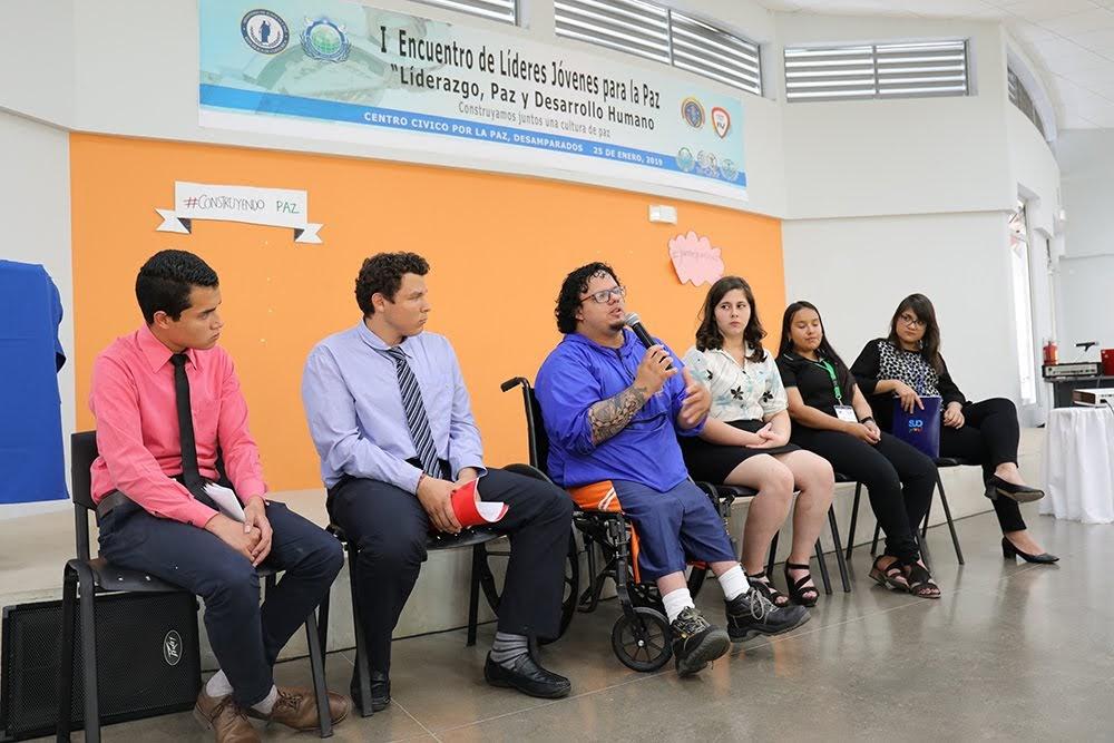 LIDERAZGO Y PAZ CONVOCÓ A JÓVENES DE DIFERENTES PAÍSES EN COSTA RICA