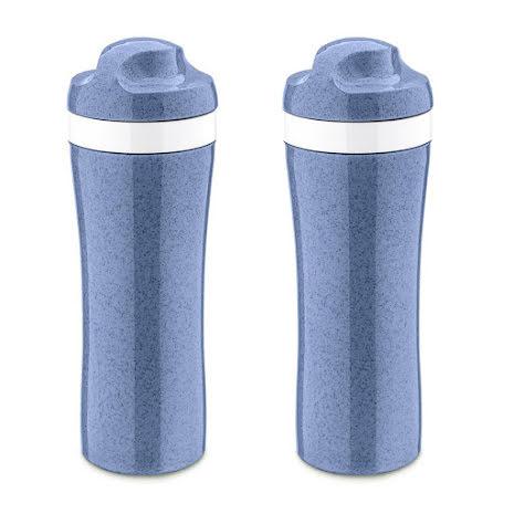 2-pack OASE Vattenflaska 425ml, Organic Blue