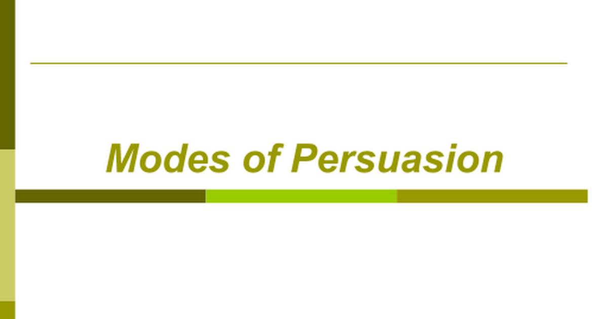 ethos pathos logos 1 pptx - Google Slides