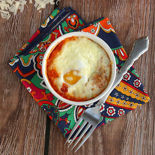 Tomato Baked Eggs with Step by Step Pictures