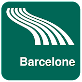 Carte de Barcelone off-line