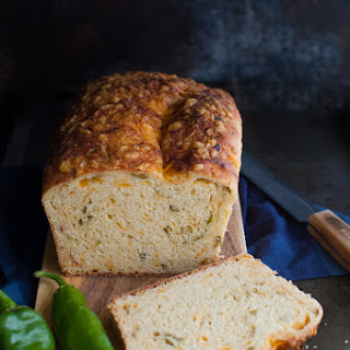 Hatch Chile {or Jalapeño} Cheese Bread
