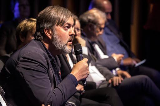 Club Les Echos Prospective avec Thomas Buberl et Laurent Mignon - Favart
