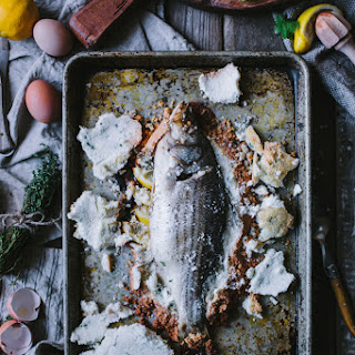 Salt Baked Sea Bass + Asheville Photography & Fly Fishing Workshop Recipe