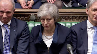 Theresa May. /Reuters TV