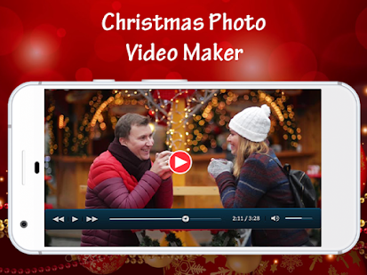 Christmas Photo Video Maker - náhled