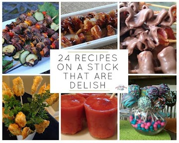 24 Recipes On A Stick That Are Delish