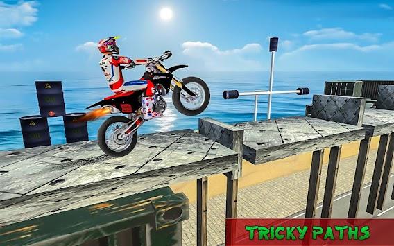 Tricky Bike Tracks 3D apk screenshot