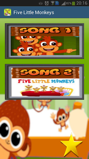 Five Little Monkeys Videos