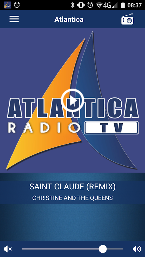 Radio Atlantica- screenshot
