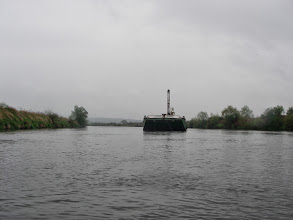 Photo: większe pływadła na Wiśle