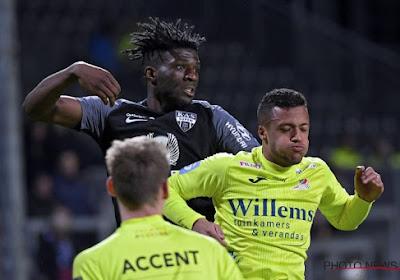 Eupen ne lève pas l'option d'achat de Rocky Bushiri, il retournera à Ostende cet été