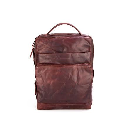 Spikes & Sparrow Laptop backpack dark brown