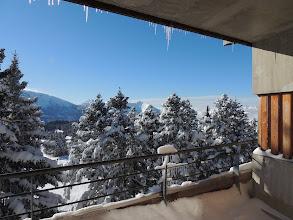 Photo: Vue d'un appartement en hiver