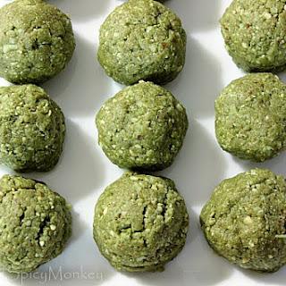 Matcha Green Tea Protein Bites