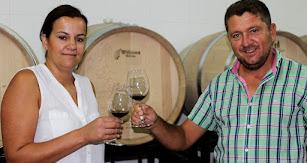 Francisco García e Inés Asensio, propietarios de Bodega Palomillo.