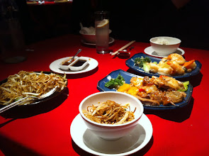 Photo: Amazing Chinese food. A fantastic way to get the holiday going!