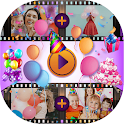 Birthday Video Maker With Song And Name icon