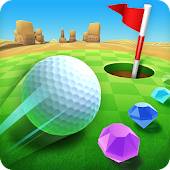 8.  Mini Golf King - Multiplayer Game
