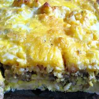 Sausage Hashbrown Breakfast Casserole Recipe
