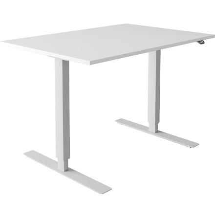 Skrivbord el vit 1600x800