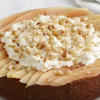 Macadamia Nut and Papaya Cheesecake