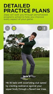 Zepp Golf Swing Analyzer- screenshot thumbnail