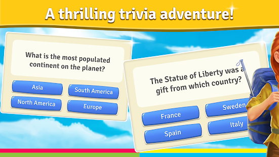 Backpacker™ – Trivia, Quiz Game 1