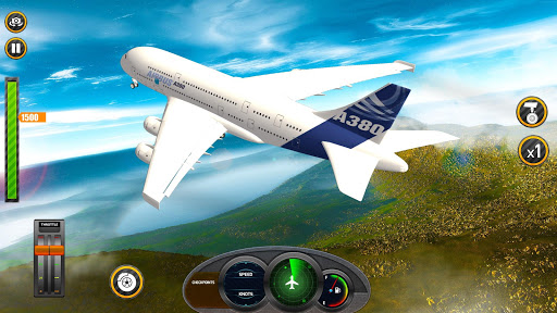 Airplane Real Flight Simulator 2020 : Plane Games Apk 1